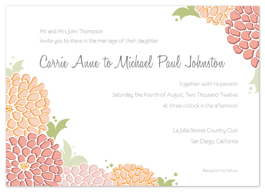 wedding invitations - Sweet and Succulent by Lindsey Parker