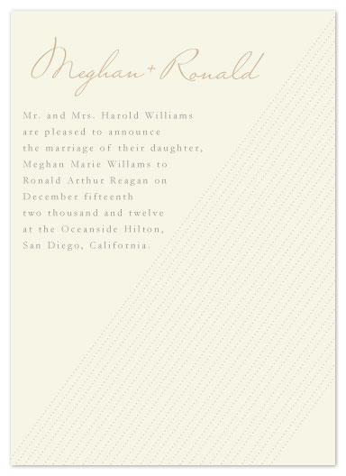 wedding invitations - Warm Simplicity by Eastwind Creations