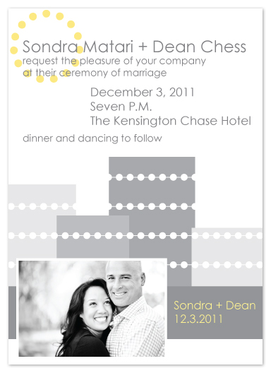 wedding invitations - Sophistication by Aisle Say Wedding Papers by Graphix Blue LLC