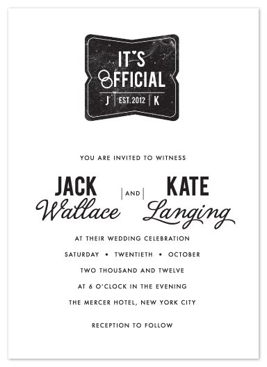 wedding invitations - Branded by Yolanda Mariak Chendak