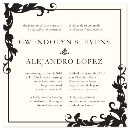 wedding invitations - Love Translation by Jacqueline Dziadosz