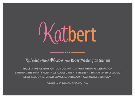 wedding invitations - Branding by Kim Dietrich Elam