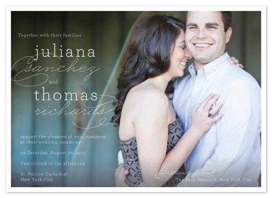 wedding invitations - Modern Elegance Display by Coco and Ellie Design