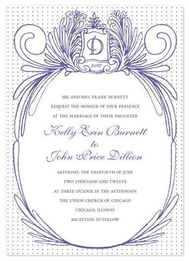 wedding invitations - Grecian Goddess of Vines by - Keg Design -