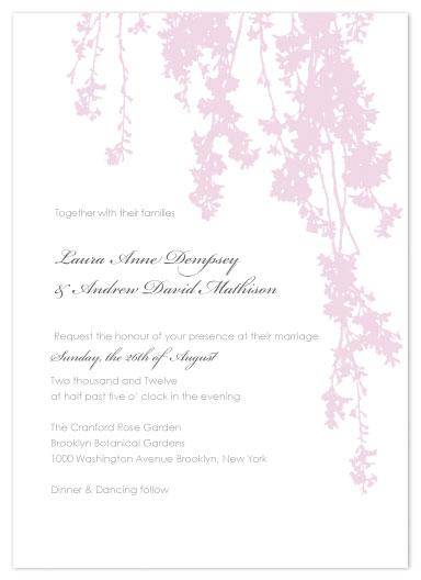 wedding invitations - Elegant Vine by Dana Wyatt