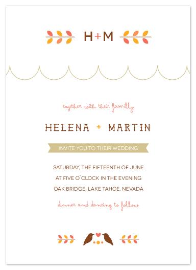 wedding invitations - le printemps by Zory Mory