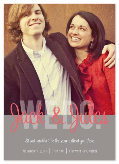 wedding invitations - Emphatic by Ashley Ottinger