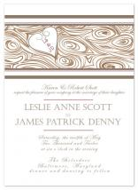 Heartwood Invitation by Colleen Bathon