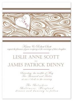 Heartwood Invitation