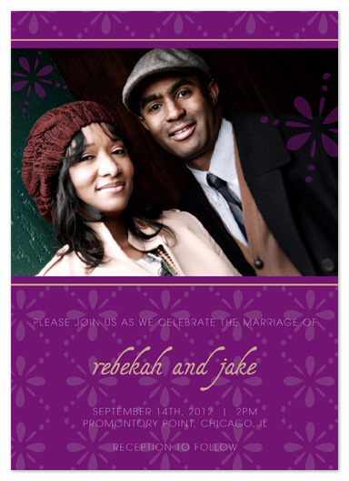 wedding invitations - Imagine Me and You by Sareph Design