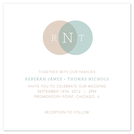 wedding invitations - Common Ground by Sareph Design