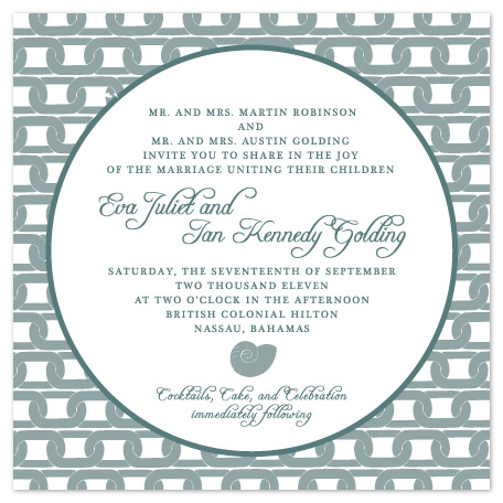 wedding invitations - Eva by Erin Pfister