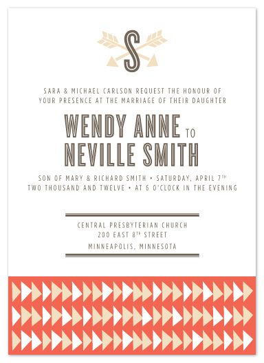 wedding invitations - Shot Through the Heart by Jayne Swallow