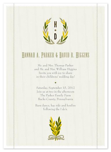 wedding invitations - Farm Fresh Fun! by Carol Fazio
