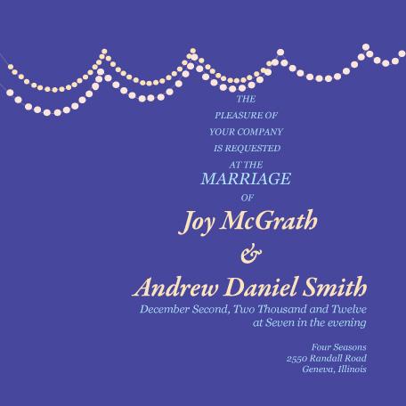 wedding invitations - Festive_lights by Gunjan Srivastava