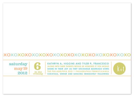 wedding invitations - Candy Kisses by Carol Fazio