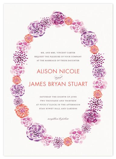 wedding invitations - English Garden by Robin Ott