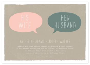 His Wife, Her Husband