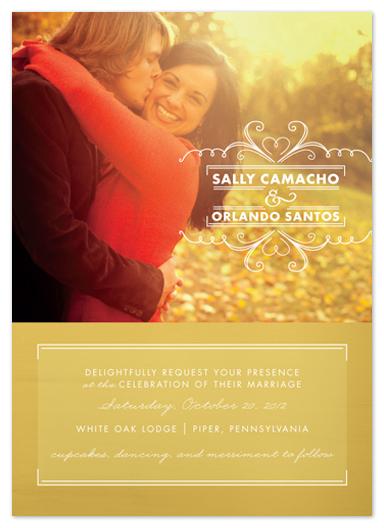 wedding invitations - Simple Delight by Susie Allen