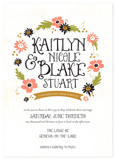 wedding invitations - the fairy tale by Robin Ott