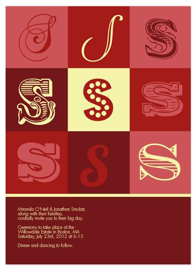 wedding invitations - Monogram Love by Simply Shira
