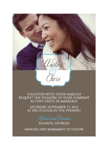 wedding invitations - Simplicity at its Best by Paper Parfait