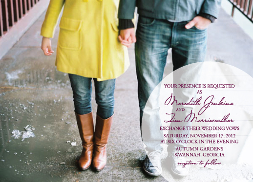 wedding invitations - Circle of Love by Paper Parfait
