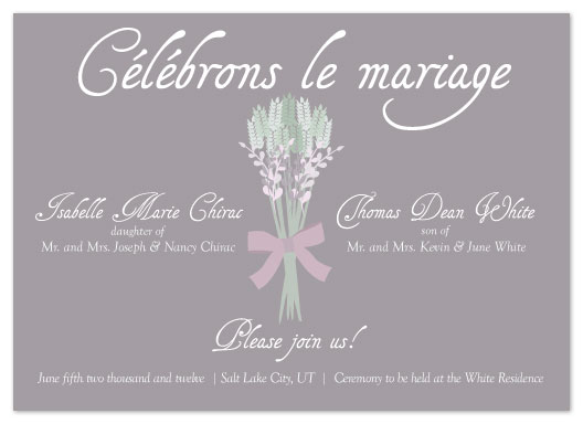 wedding invitations - Celebrate Marriage by Eastwind Creations