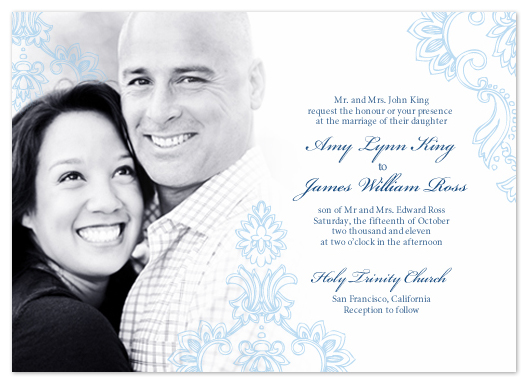 Wedding Invitations With Couples Picture Southernsoulblog Com