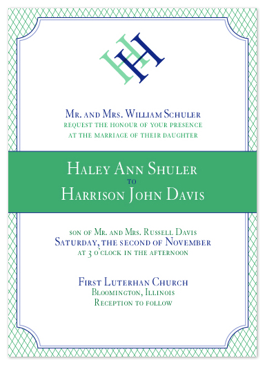 wedding invitations - Formal Affair by Ashley Hobbs