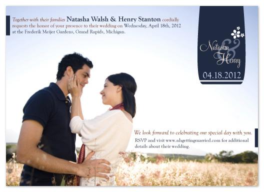 wedding invitations - Irish Wildflowers by Angela Chih
