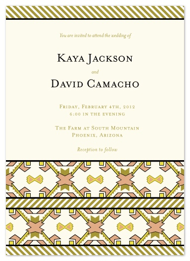 wedding invitations - Native Love by Heather Myers