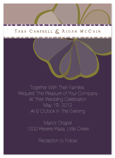 wedding invitations - Crystal_Clover by Elena Wilkerson