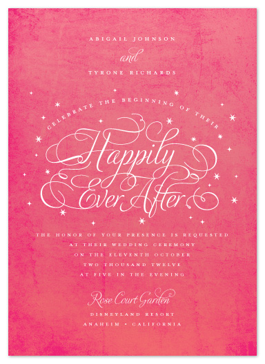 wedding invitations - Ever After by Jill Means