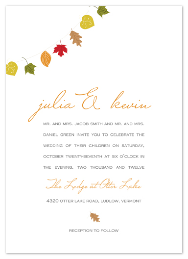 wedding invitations - love of nature by Larkspur Paperie