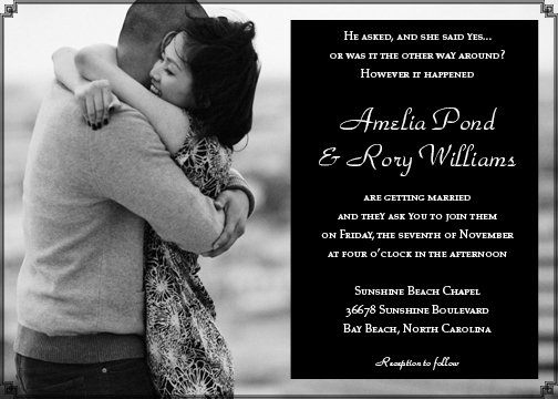 wedding invitations - Together Forever by Sharon Hoffman