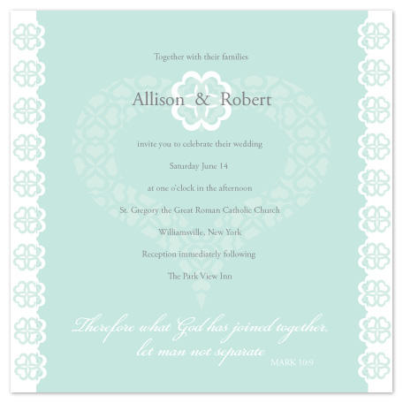 wedding invitations - Joined Together by Ellen Morse