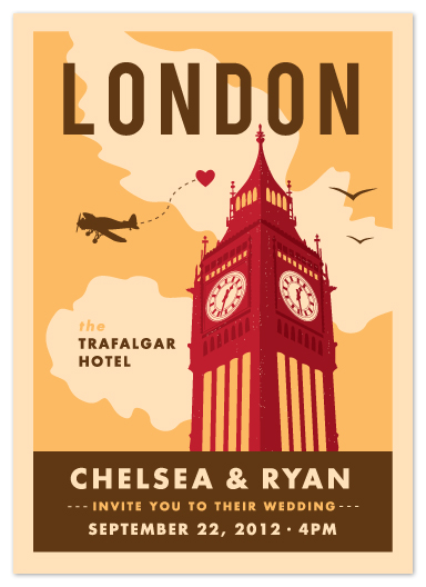 wedding invitations - Ello London by Yolanda Mariak Chendak