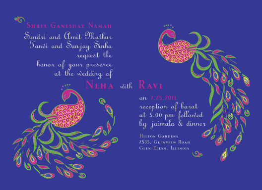 wedding invitations - monsoon_wedding by Gunjan Srivastava