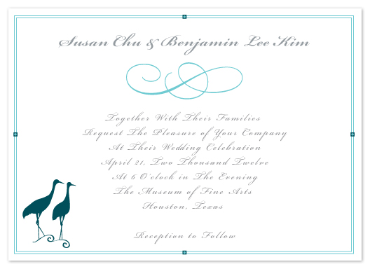 wedding invitations - Soulmates by Elena Wilkerson