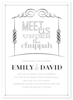 Meet Us Under the Chuppah
