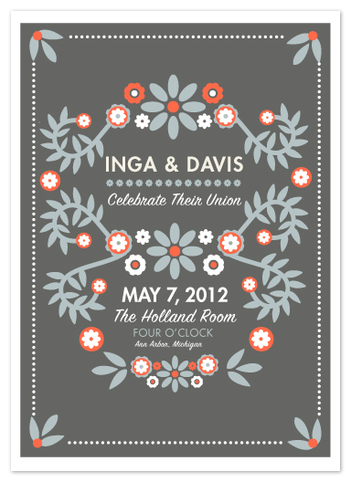 wedding invitations - Danish I Do by Rachel Wiles/Benign Objects