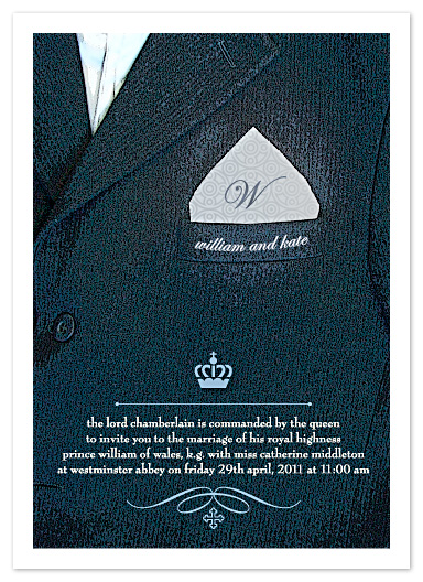 wedding invitations - Family Crest by Carol Fazio