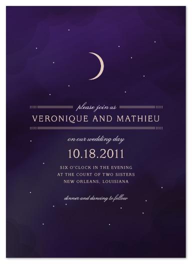wedding invitations - Luna by Jody Wody