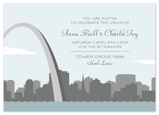 Wedding Invitations Meet Us In St Louis At Minted Com