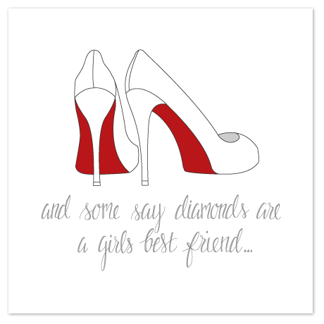 art prints - Louboutin Love by Angela Scheffer