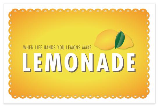 art prints - Make Lemonade by Sarah Curry