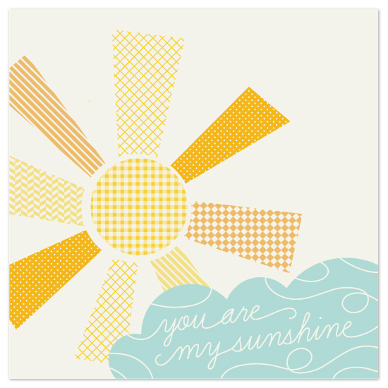art prints - My Sunshine by Amber Barkley