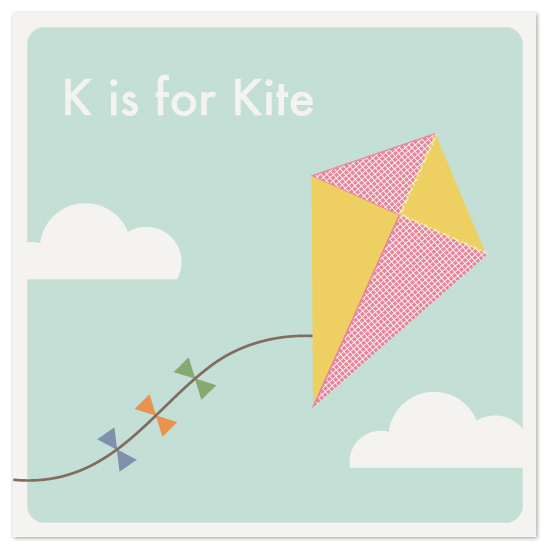 art prints - Alphabet: K by Amber Barkley