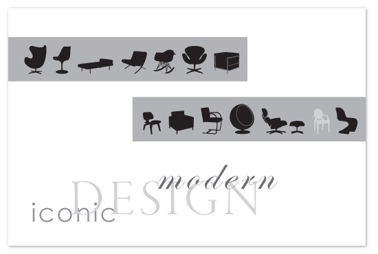 art prints - ModernChairs by Eddie